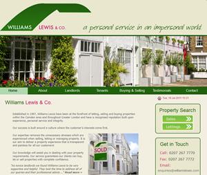 williamslewis.com screenshot