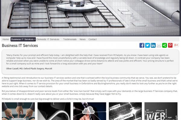 IT Support & SMB Websites