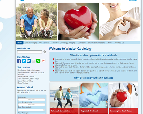 Medical & Hospital Websites