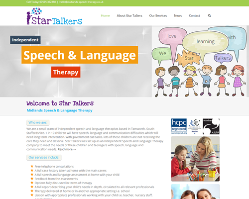 Speech Therapy Websites